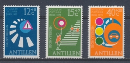 Nederlandse Antillen/Netherlands Antilles 1973 Mi: 263-265 Yt: 451-453 Nvph: 469-471 (PF/MNH/Neuf Sans Ch/**)4377) - Curaçao, Nederlandse Antillen, Aruba