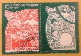 1998, Y&T N°3136a, Vignette Attenante, Oblitération Ronde (18280) - France