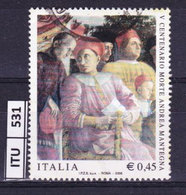 ITALIA REPUBBLICA  2006, Mantegna, Usato - 6. 1946-.. Repubblica