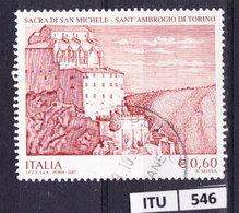 ITALIA REPUBBLICA  2007, Sacra Di San Michele, Usato - 6. 1946-.. Repubblica