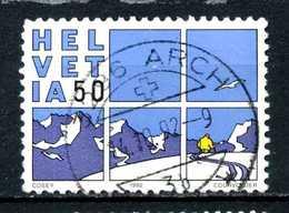 SVIZZERA - HELVETIA - Year 1992 - Viaggiato - Traveled - Voyagè - Gereist. - Svizzera