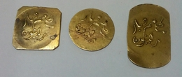 EGYPT 60's , 3 Tokens Of The Bar And Restaurants Of The La Réunion , Cairo - Casino