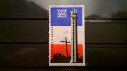 FRANCOBOLLI STAMPS GERMANIA DEUTSCHE DDR 1966 USED MEMORIAL ORADOUR GERMANY - [6] Repubblica Democratica