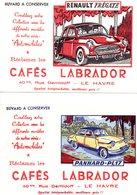 Lot De 6 Buvards Cafes Labrador - Automobile