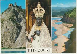 67-Tindari-Messina-Religione:Madonna.Chiesa-Santuario-v.1965 X Catania - Messina