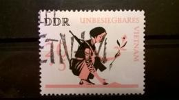 FRANCOBOLLI STAMPS GERMANIA DEUTSCHE DDR 1966 USED THE VIETNAM WAR  GERMANY - [6] Repubblica Democratica