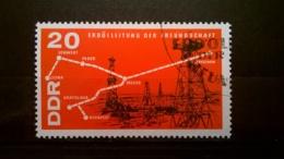 FRANCOBOLLI STAMPS GERMANIA DEUTSCHE DDR 1966 USED CHEMISTRY INDUSTRY GERMANY - [6] Repubblica Democratica