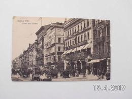 Berlin. - Unter Den Linden. (23 - 12 - 1911) - Germania