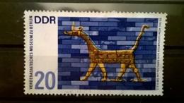FRANCOBOLLI STAMPS GERMANIA DEUTSCHE DDR 1966 USED MUSEO ORIENTALE BERLINO GERMANY - [6] Repubblica Democratica