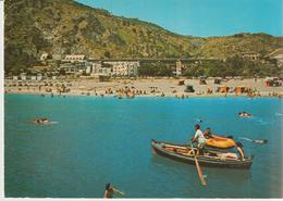 65-S:Alessio-Taormina-Messina-Spiaggia-Barche-v.1980 X Aci S.Antonio-Catania - Messina