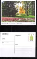SLOVENIA , 2019,MINT POSTAL STATIONERY, PREPAID POSTCARD, FLOWERS, MARIBOR HORTICULTURAL SOCIETY - Plants