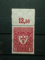 Deutsche Reich Freimarke Mi-Nr.199 D ** NNH Postfrisch Geprüft - Nuovi