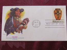 USA 1977 FDC Cover Santa Fe - Pueblo Art - Hopi - Ceramic - Etats-Unis