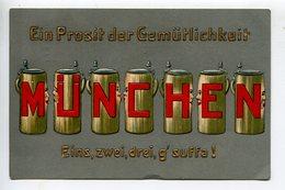 Munchen  Bière Bier Ein Prosit - Muenchen