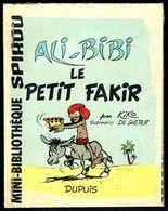 """Mini-récit N° 289 - """" ALI-BIBI LE PETIT FAKIR """" De KIKO Et DE GIETER - Supplément à Spirou - Monté. - Spirou Magazine"""