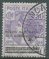 1924 REGNO ENTE PARASTATALE USATO INV GUERRA ROMA 50 CENT SASSONE 74 - M48-8 - 1900-44 Vittorio Emanuele III