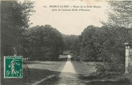 MARLY LE ROI ROUTE DE LA GRILLE ROYALE PRISE DE L'ANCIENNE GRILLE D'HONNEUR - Marly Le Roi