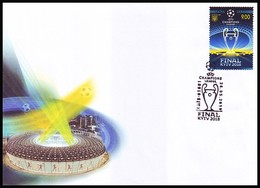 UKRAINE 2018. FOOTBALL UEFA CHAMPIONS LEAGUE FINAL In KYIV. Mi-Nr. 1687 Cover With Special Cancellation - Football