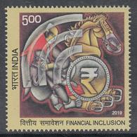 INDIA 2019  FINANCIAL INCLUSION 1v   MNH (**) - India