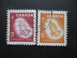 CANADA N°375 Et 376 Oblitérés - Vrac (max 999 Timbres)