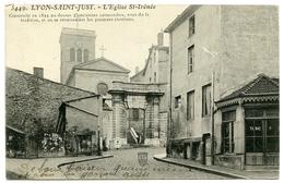 69 : LYON SAINT JUST - L'EGLISE ST IRENEE / CACHET - LYON ST JUST - Lyon