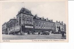 """ORLEANS - La Place De La République Et Les """"Magasins Francis"""" (Jouets, Cadeaux, Confiserie) - Orleans"""