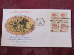 USA 1977 FDC Cover Saint Louis - Read Books - Right To Be Informed - Newspaper Horse Delivery - Etats-Unis