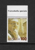 Switzerland 2009 Calvin 1v Complete Unmounted Mint [4/3751/ND] - Switzerland