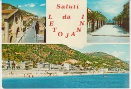 55-Letojanni-Taormina-Messina-3 Vedutine-v.1972 X Catania - Messina