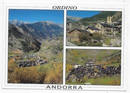 (RECTO / VERSO) ANDORRE - ANDORRA - ORDINO - MULTIVUES - BEAU TIMBRE - CPM GF VOYAGEE - Andorre