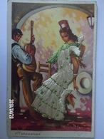 Carte Tissée - Peteneras - Giralt Levin - Cartes Postales