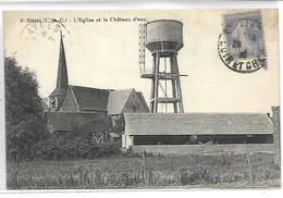 SAINT VIATRE - L'Eglise Et Le Château D'eau - France