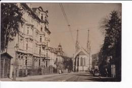 Lot 5 Cartes Photos De BADEN-BADEN Vues Diverses De La Ville - Voir Scans - Baden-Baden