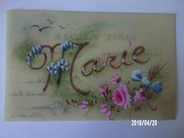 Carte Celluloïd - Prénom Marie - Cartes Postales
