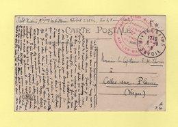 Hopital Auxiliaire 238bis - Formation Alexandra - Aix Les Bains - Savoie - Marcophilie (Lettres)