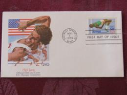 USA 1979 FDC Cover Colorado Springs - Olympic Games - High Jump - Etats-Unis