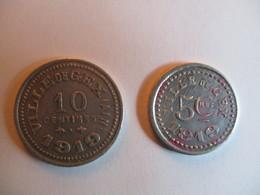 France: 5 & 10 Centimes 1919 -  Ville De Gex (Ain) - Monetary / Of Necessity