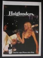 HAIG WHISKY . ORIGINAL 1974 MAGAZINE ADVERT - Advertising