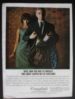 CRAWFORDS SCOTCH WHISKY. ORIGINAL 1964 MAGAZINE ADVERT - Other