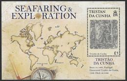 Tristan Da Cunha 2009 Seafaring And Exploration Miniature Sheet Unmounted Mint [4/3802/ND] - Tristan Da Cunha
