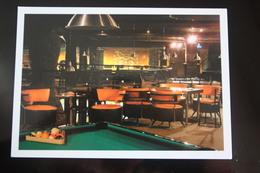 """Billiard Table""  - Moscow KAZUS CLUB , Modern Postcard,  Billiard - Cartes Postales"