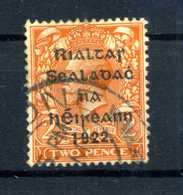 1922 IRLANDA N.4B USATO - Oblitérés