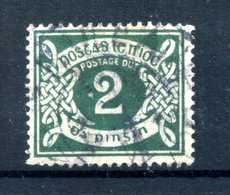 1925 IRLANDA TASSE N.3 USATO - Timbres-taxe