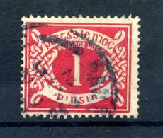 1925 IRLANDA TASSE N.2 USATO - Segnatasse