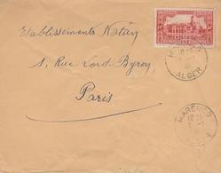 LSC - Cachet MARENGO - ALGER Sur YT 112 - Briefe U. Dokumente