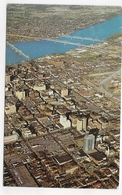 (RECTO / VERSO) AERIAL VIEW OF LOUISVILLE IN 1967 - BEAU TIMBRE - FORMAT CPA VOYAGEE - Louisville