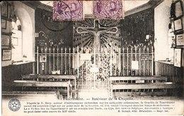 Tancremont. Intérieur De La Chapelle. à Melle Simone Edelbloude Chez M. Loth Bourrelier à Rimogne. Ardennes France - Pepinster