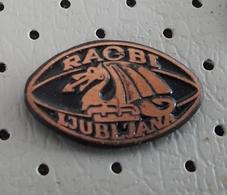 RUGBY Club Ljubljana Dragon Slovenia Pin - Rugby