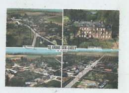 Saint-André-sur-Cailly (76)  : 3 Vues Aériennes Générale Dont Le Hameau Du Vert Galant En 1960 GF. - France