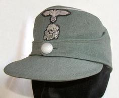 CASQUETTE OFFICIER WAFFEN SS WW2 1943 - Casques & Coiffures